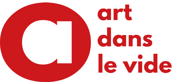 Art dans le vide logo officiel rouge