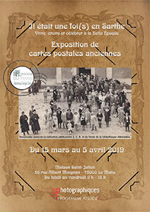 Affiche exposition bibliotheque diocesaine petit